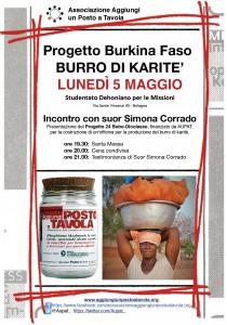Presentazione del Progetto 24 - Bobo Dioulasso, Burro di Karitè